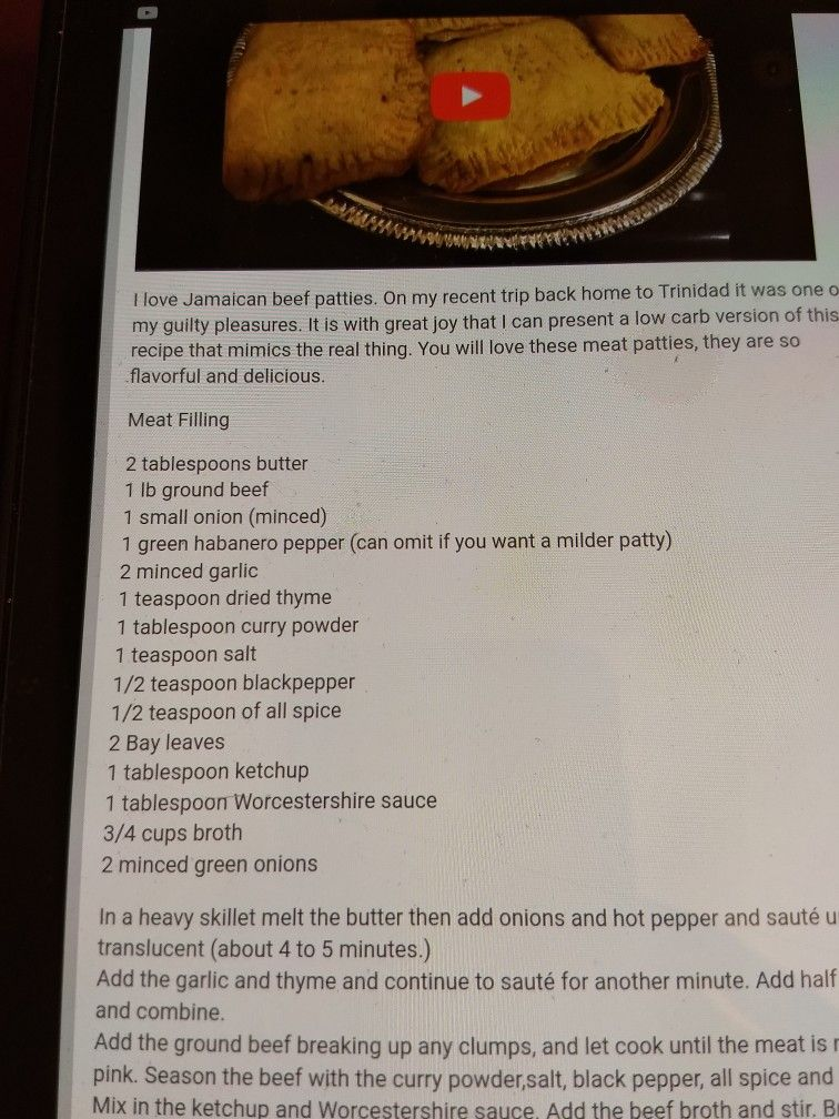 jamaican beef patties imagejulie mccool on recipes