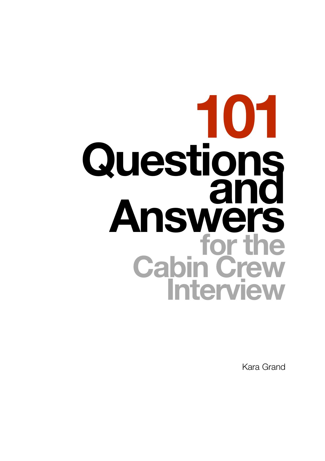 101qa cover education pinterest cabin crew flight attendant the scariest thing about cabin crew interviews is being surprised by the weird questions theyll ask you whats even worse is not knowing how to answer yelopaper Images