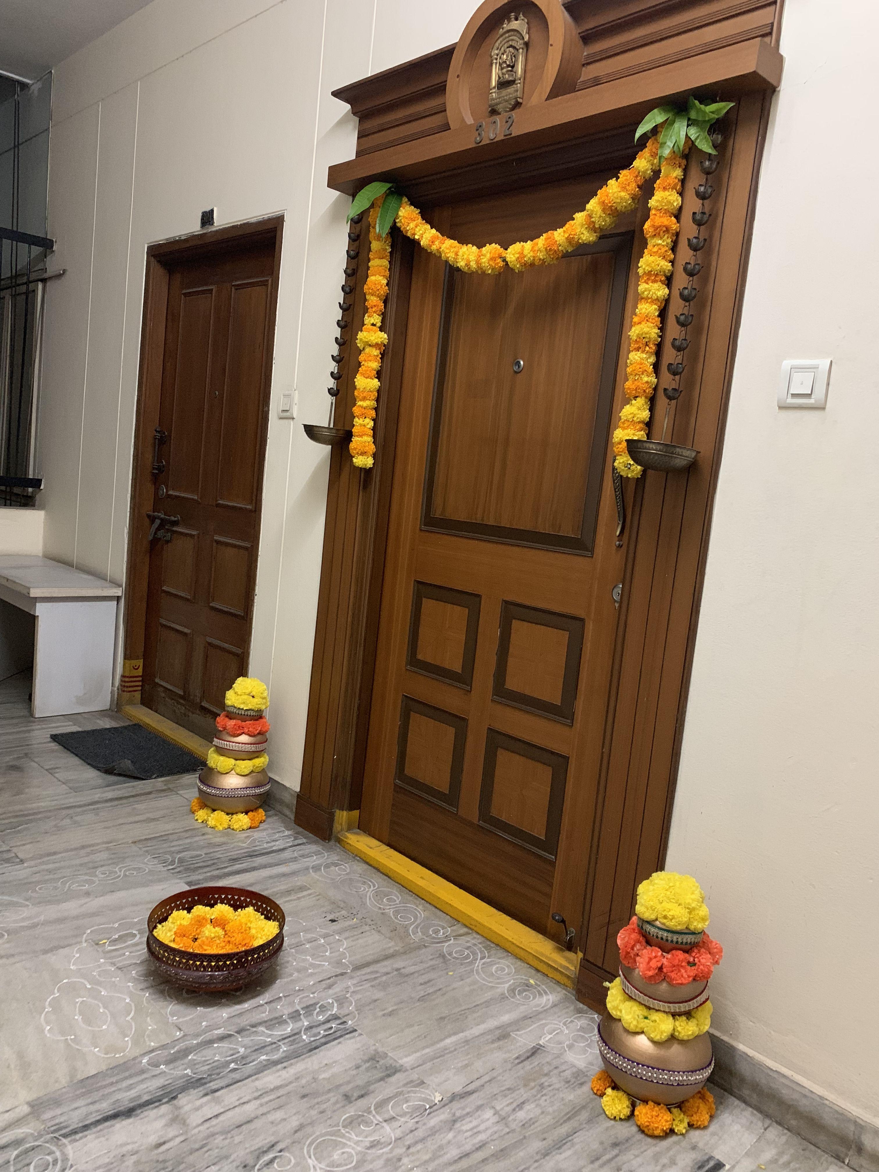 Pin By Malligakrish On Front Door Goddess Decor Main Door Design Door Gate Design
