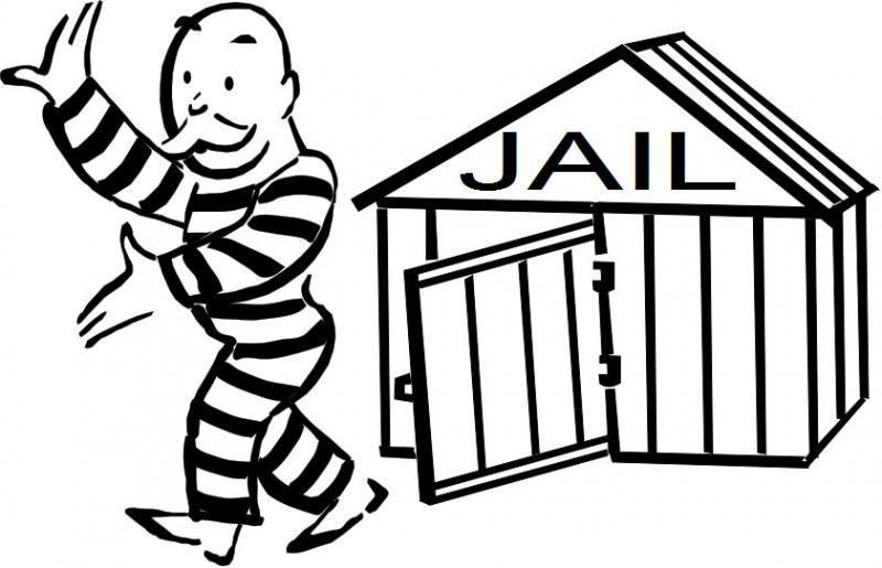 jail cartoon clip art cartoon man in jail clipart 58 jailtime rh pinterest com jail clipart black and white free clipart jail