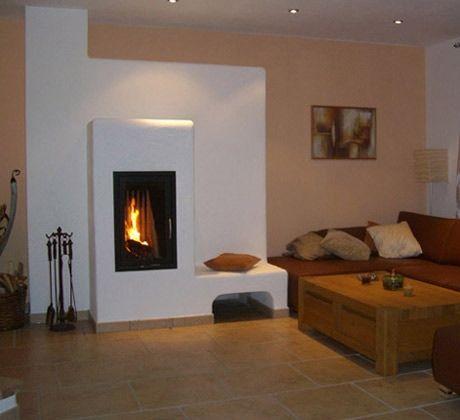 kachelofen_77 Wohnzimmer Pinterest Fire places, Living room