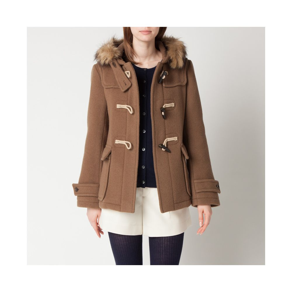 WOMEN Carine Roitfeld Nylon Blouson | Duffle coat, Uniqlo and Wool ...