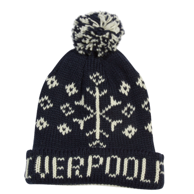 afa85682779 LFC Navy Fairisle Hat. Was £20