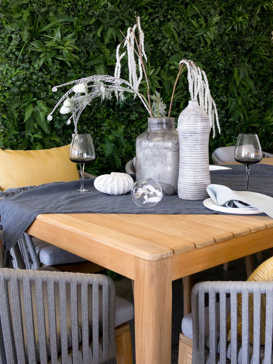 The Airy Design Of The Tribu Mood Outdoor Furniture Range And Its Warm  Combination Of Teak And Handwoven Elements, Will Immediately Create An  Intimate ...