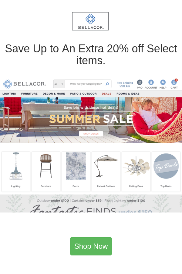 Best Deals And Coupons For Bellacor In 2020 Bellacor Outdoor Ceiling Fans Coupons