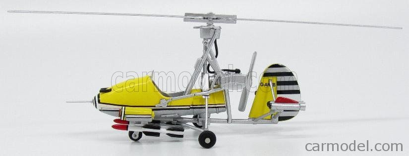 EDICOLA BONDCOL DG001 Skala: 1/48  GYROCOPTER LITTLE NELLIE 1967 - HELICOPTER YOU ONLY LIVE TWICE YELLOW GREY