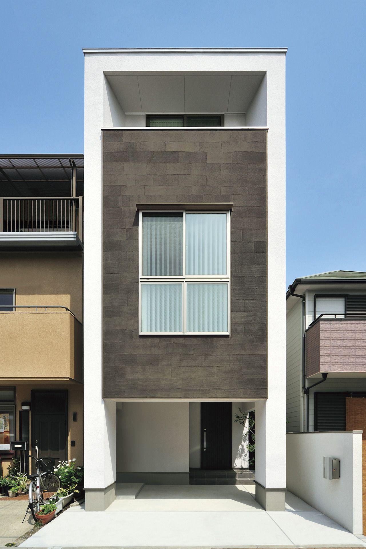 すっきりとしたラインと 回遊式のキッチンで広く住む家 実例紹介