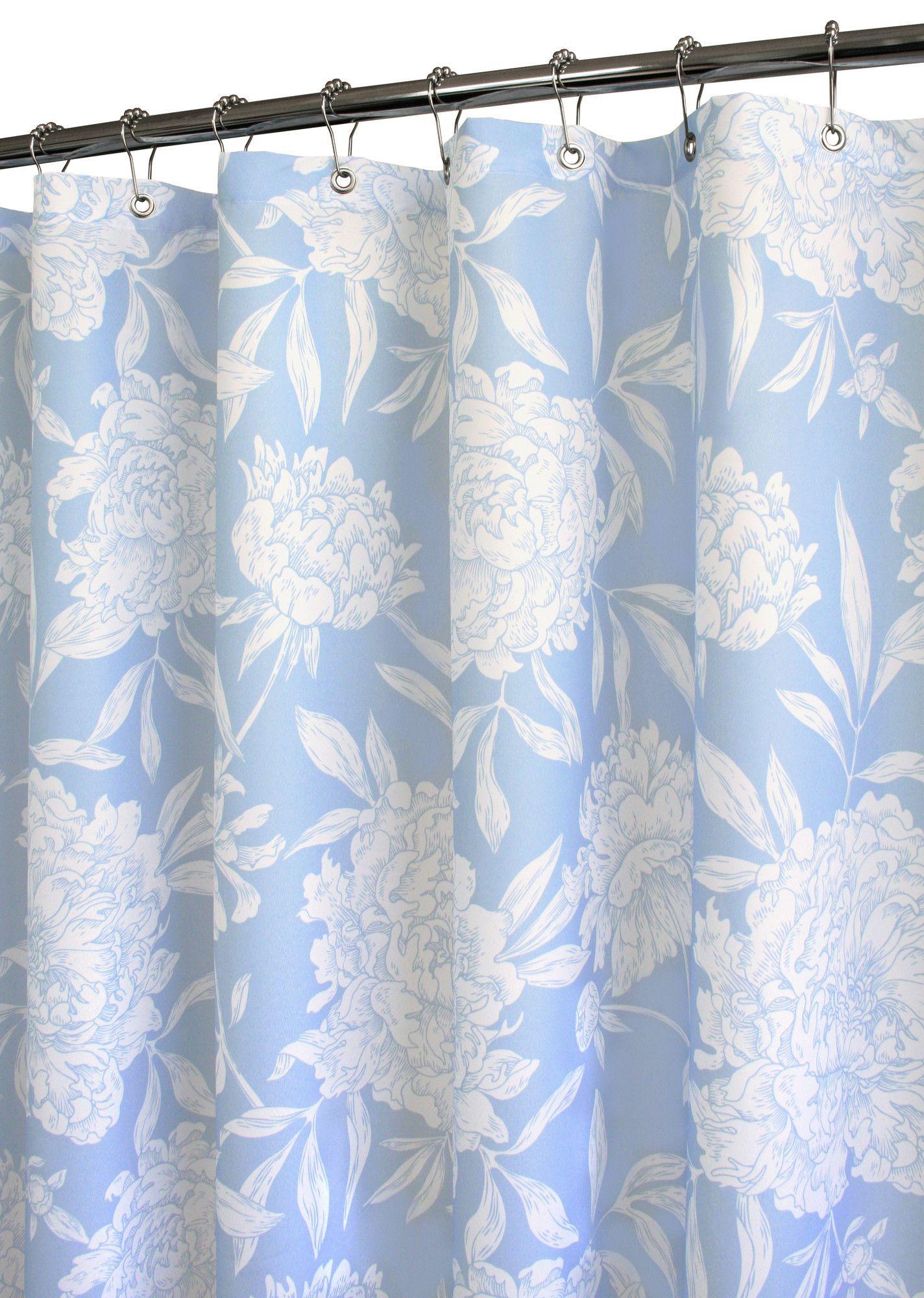 Prints Peony Shower Curtain