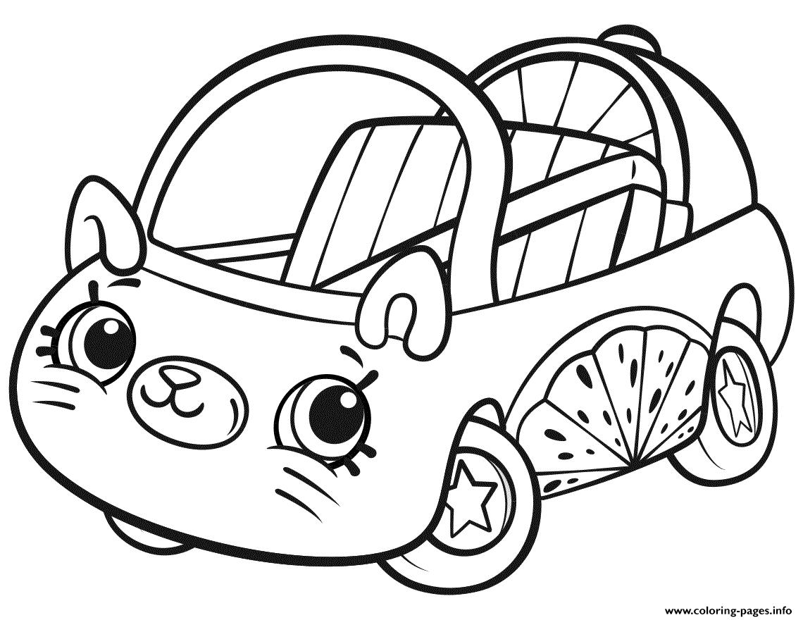 Print Cutie Cars Shopkins Coloring Pages Shopkins Colouring Pages Shopkin Coloring Pages Puppy Coloring Pages