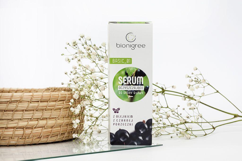 Bionigree naturalne serum oczyszczające