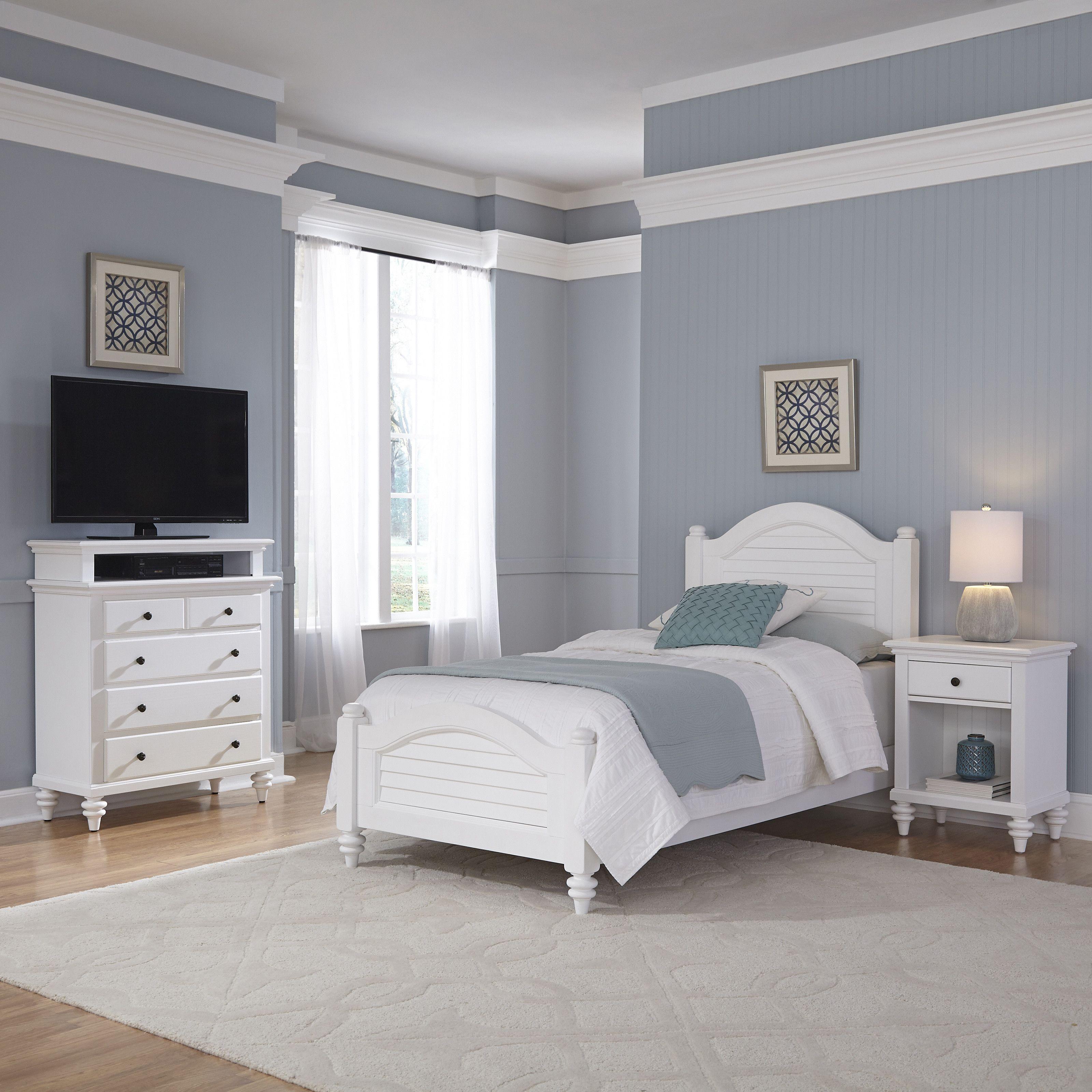 Best Home Styles Bermuda Panel 3 Piece Bedroom Set 5 Piece 400 x 300