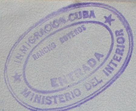 Cuba entrada Passports Pinterest Politics - invitation letter for us visa cuba
