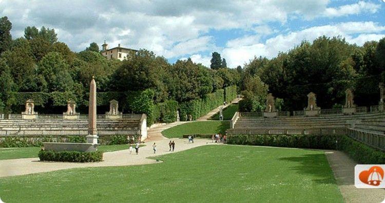 Boboli Gardens In Florence Visit The Boboli Garden Behind Palazzo Pitti In Florence Florence Boboli Palazzo