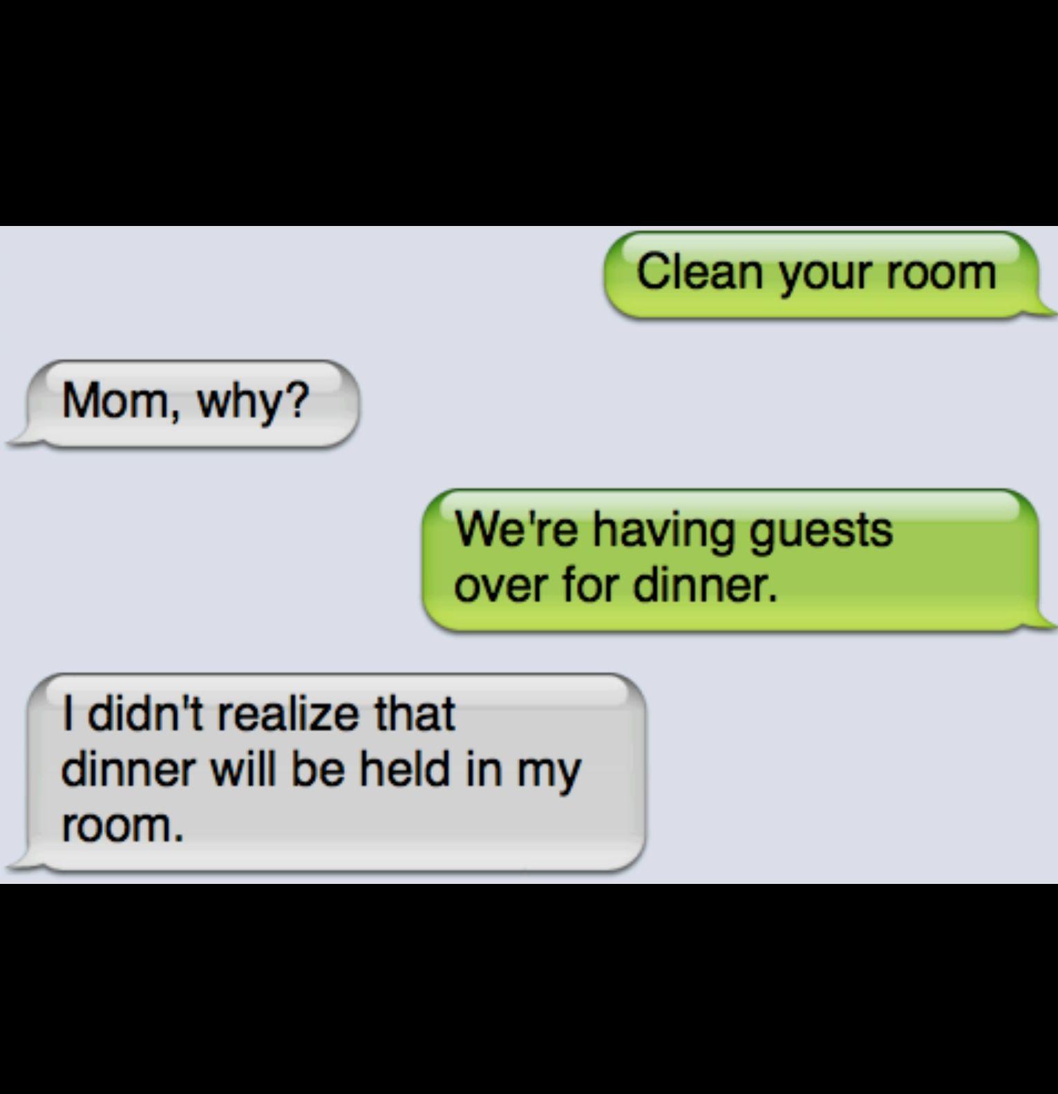 Hahaha! How I feel everytime! Hahahah..... I still have to clean it