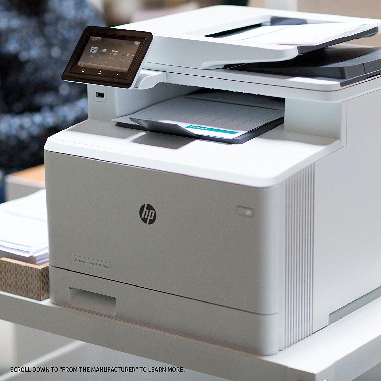 Hp Laserjet Pro M477fnw Multifunction Wireless Color Laser Printer With Builtin Ethernet Amazon Dash Replenishment Ready Cf377a Printer Builtin Color Printer