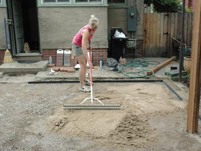 Amazing DIYNetwork.com Experts Demonstrate How To Lay An Attractive Patio Using  Inexpensive Brick Pavers.