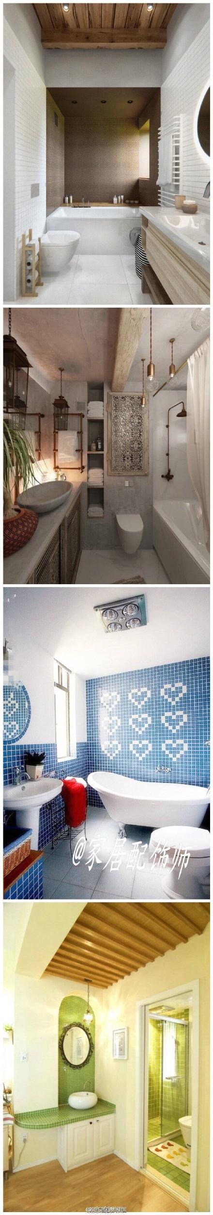 頂尖創意家居:35款浴室裝修效果圖例供你參考!總有一... - 微博精選 - 微博台灣站