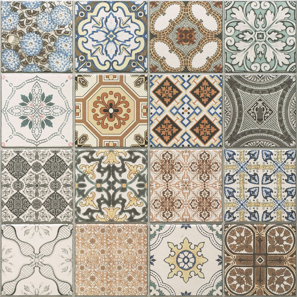 Moroccan Style Kitchen Tiles Maalem Decor Matt Tiles Walls And Floors P A T T E R N