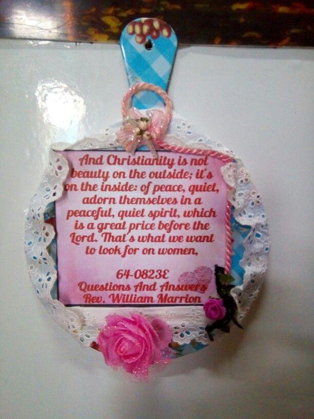 A keepsake to A Christian Friend sis. Marlyn in zambales