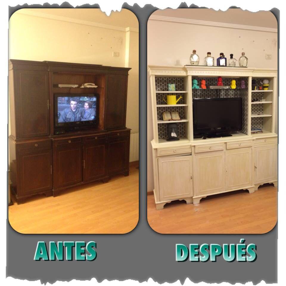 Reciclado de mueble antiguo muebles restaurados for Muebles antiguos reciclados