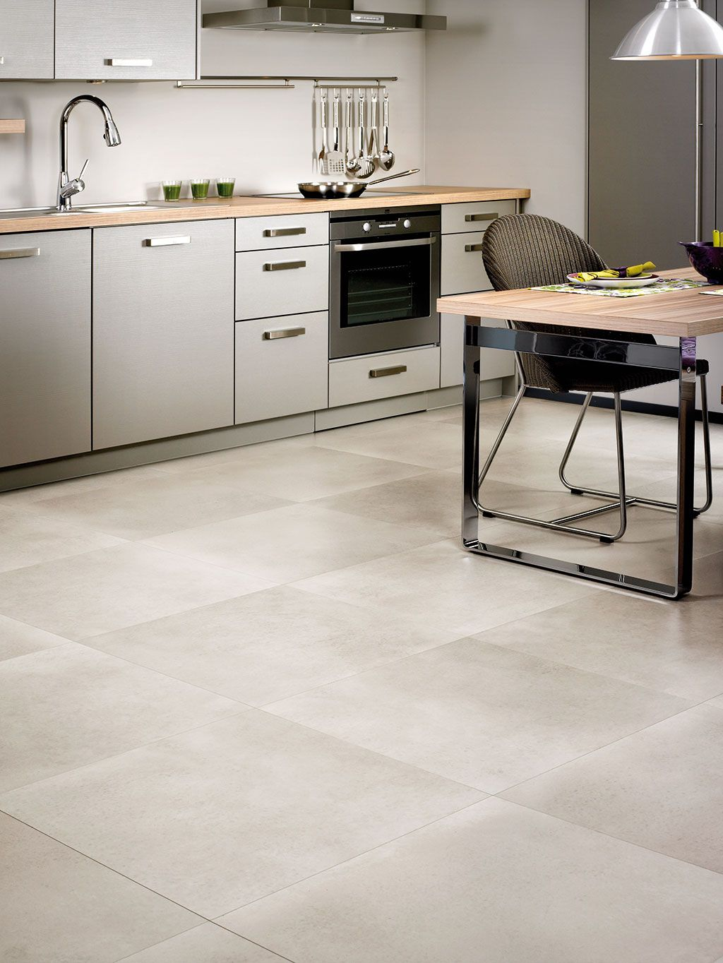 Quick Step Arte Leather Tile Dark How To Choose The Perfect Kitchen Flooring In 2019 Our Laminate