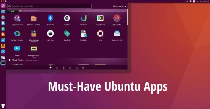 Best Ubuntu Desktop Apps | Linux