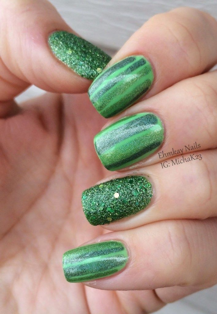 Best st patrick nail designs 2018 | Pinterest