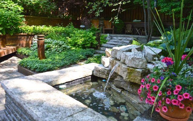 Toronto Gardens: Two practical ideas for a split-level garden | tuin ...