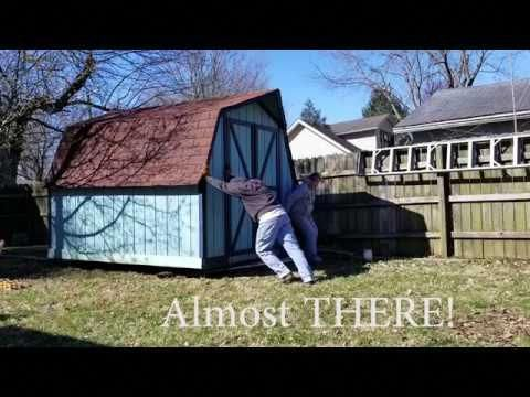 Do you need to move a garden shed? I have all the details ...
