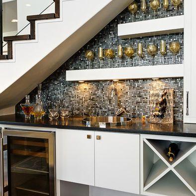 Home Bar Under Stair Case Bar Under Stairs