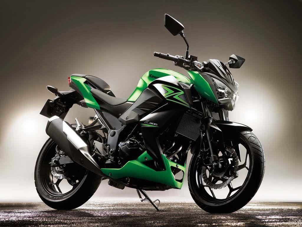 2014 EICMA 2015 Kawasaki Z300 Review Motor kawasaki