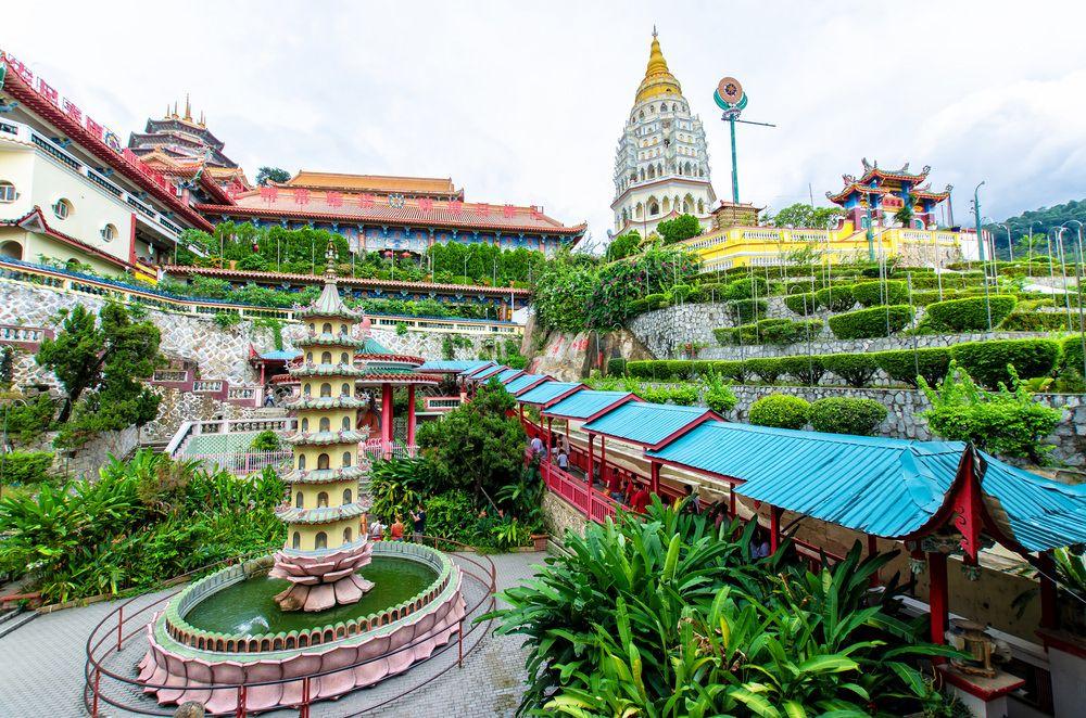السياحة في ماليزيا Buddhist Temple Penang Penang Malaysia