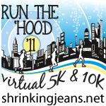 Awesome Virtual @shrinkingjeans 5k/10k! Register now! bit.ly/oteQql #runthehood