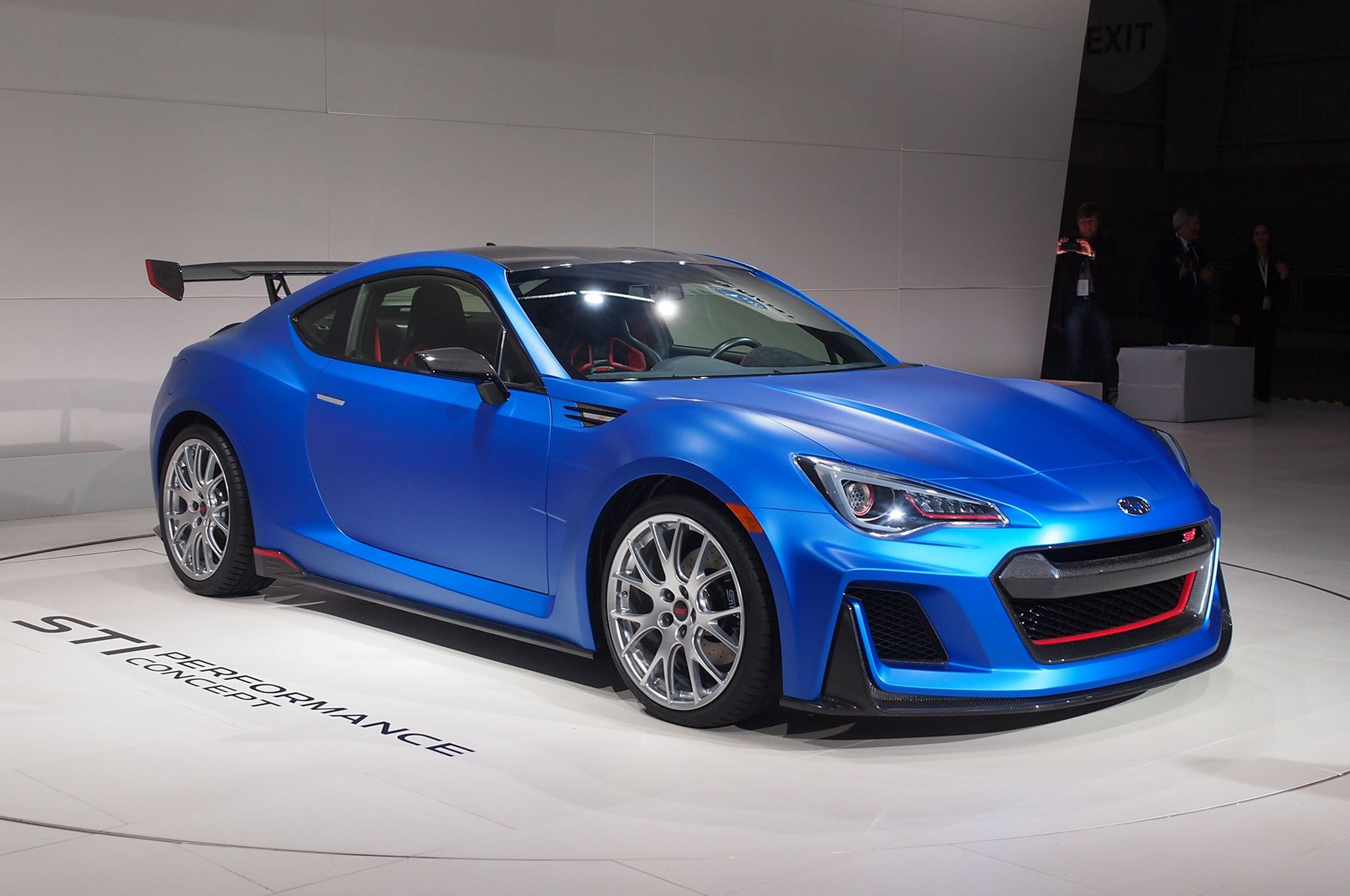 The Subaru Sti Performance Concept Shown At New York Auto Show Hints What A Brz Coupe Could Be If Top Spec Model Is Roved