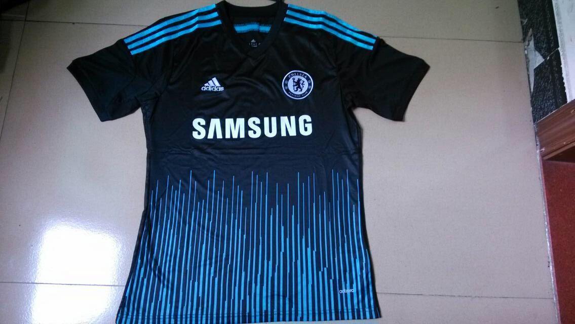 Thailand quality Chelsea 3rd away football shirts 14/15