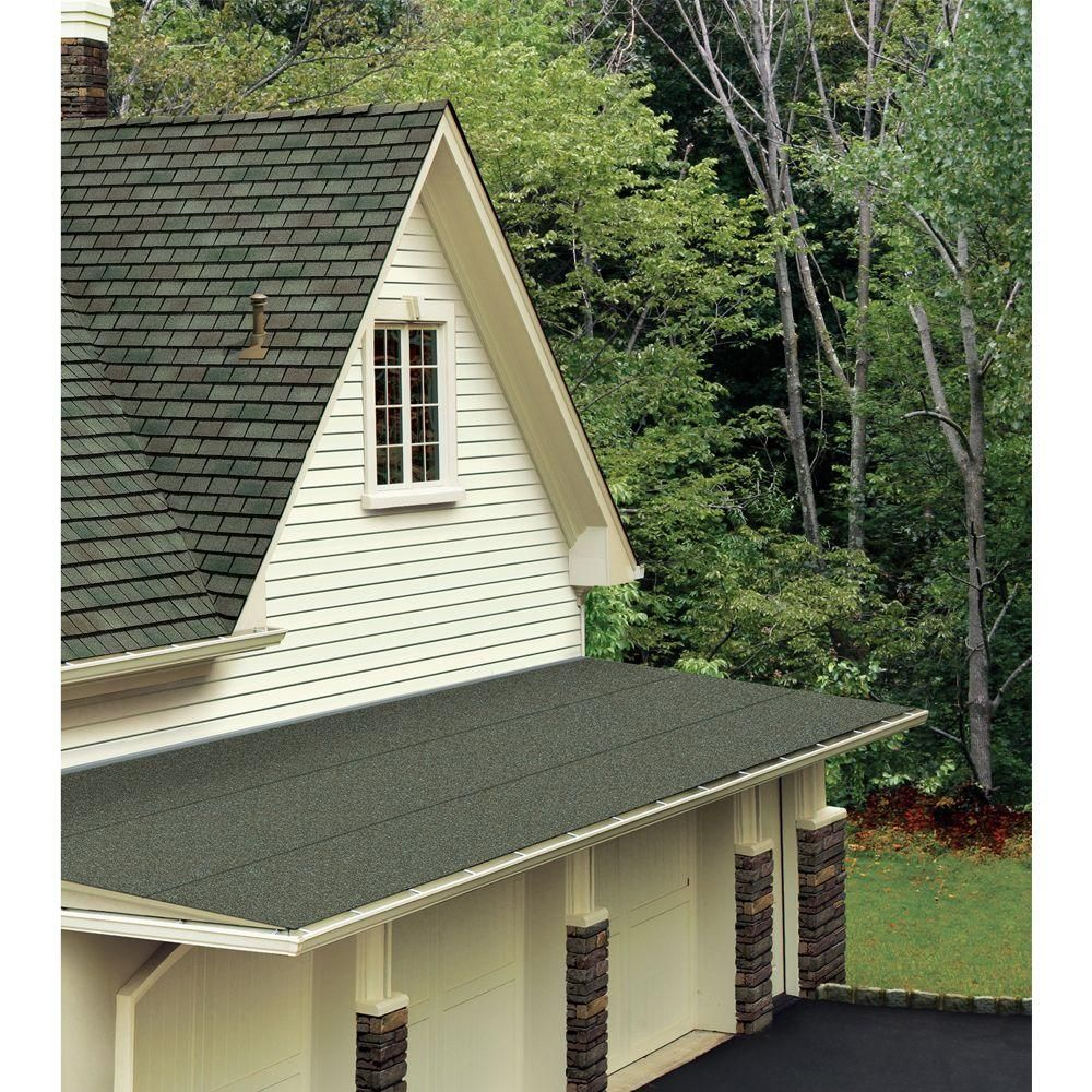Gaf Liberty 3 Ft X 34 Ft 100 Sq Ft Sbs Self Adhering Cap Sheet In Black 3732100 The Home Depot Membrane Roof Small House Design Small House