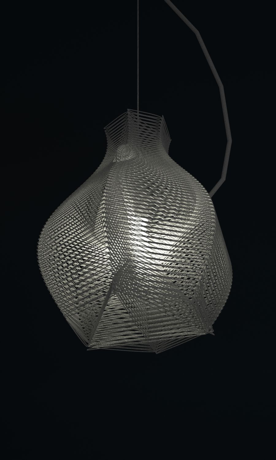 Pendant Light 3d Print By Studioluminiaire Lantern Designs Pendant Light 3d Lamp