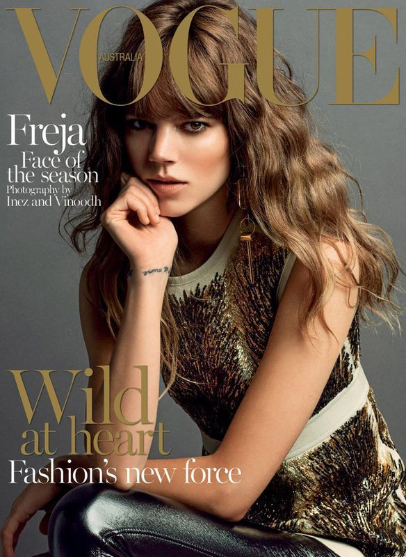 Vogue Australia September 2014 Freja Beha Erichsen by Inez & Vinoodh