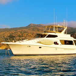 """Luxury Yacht Charters on """"The Duchess"""" in Marina del Rey, Califor"""