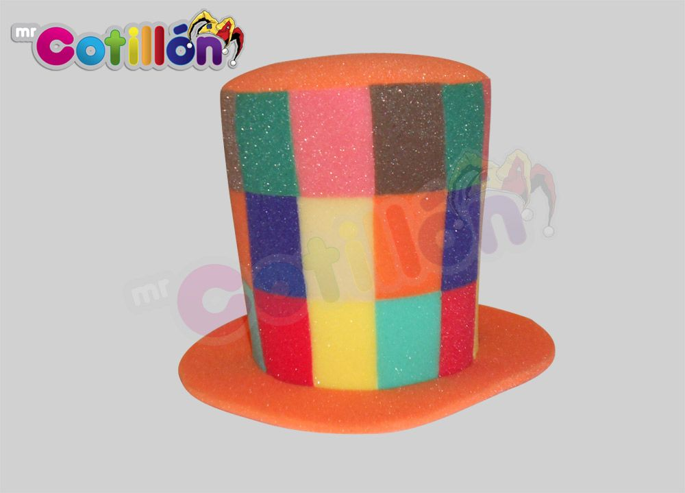 Sombrero de Copa Cuadros