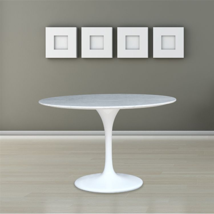 Flower Marble Table Dining Tables Pinterest Marbles - White tulip table 48