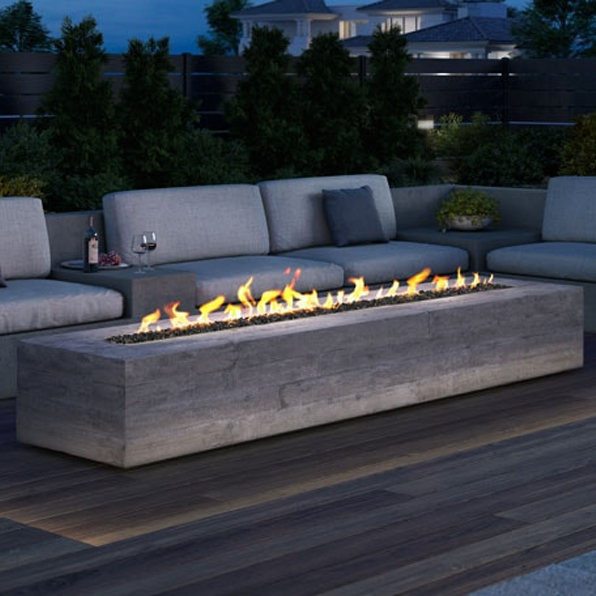Majestic Plaza Linear Vent Free Gas Fire Pit Odplaza L24 In 2020 Gas Firepit Fire Pit Gas Fires