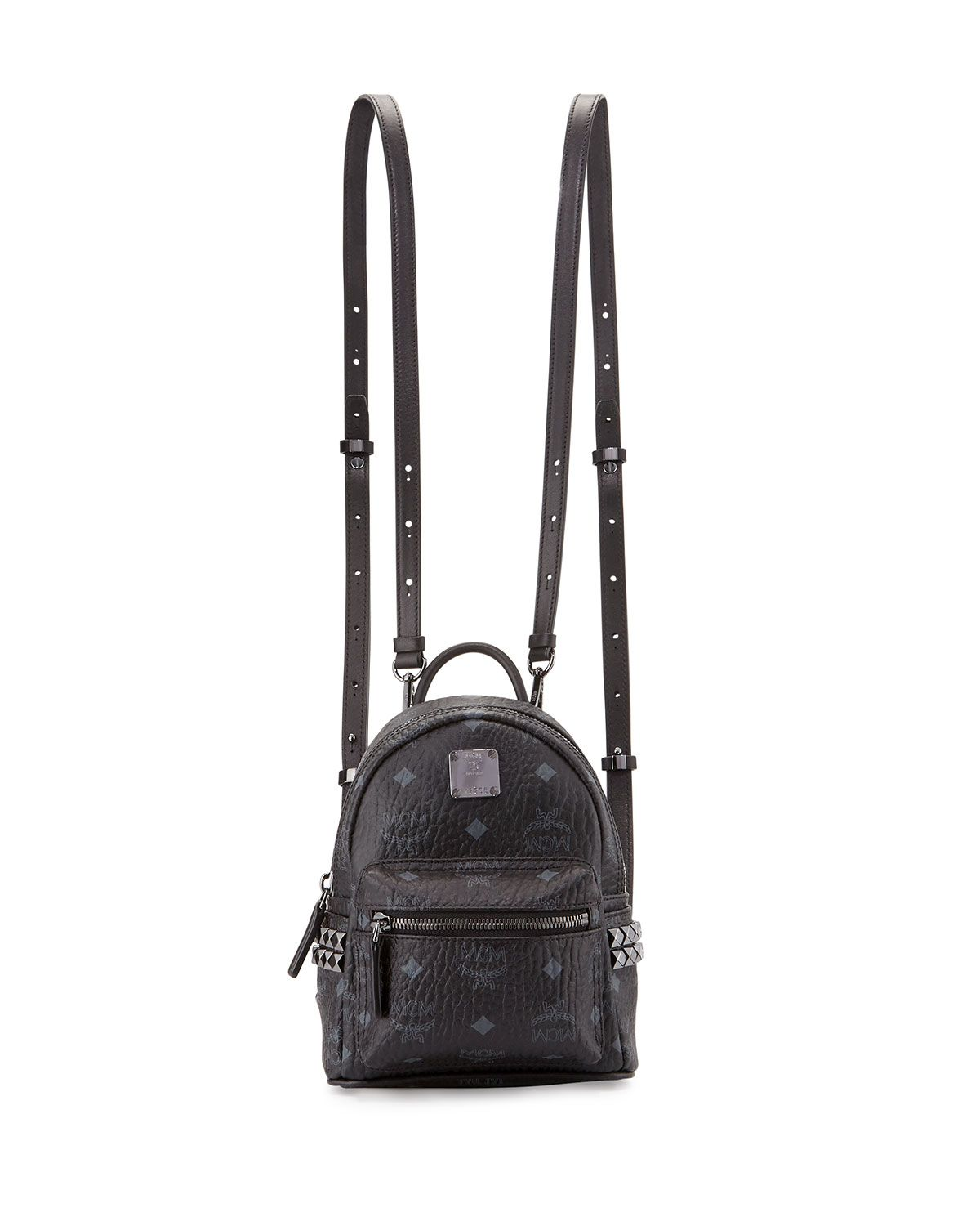 21e52777f Stark Side-Stud X-Mini Backpack, Black - MCM | *Luggage & Bags ...