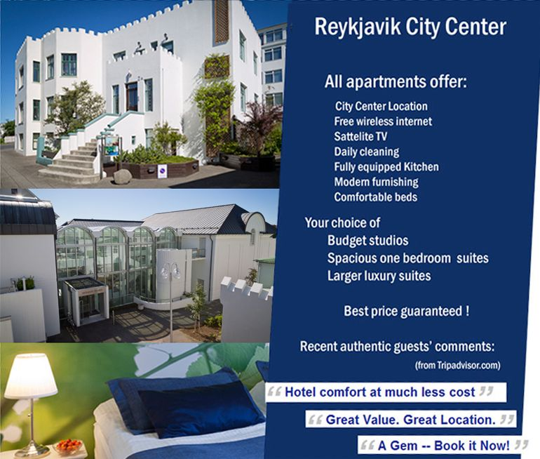 Modern Serviced Hotel Apartments In Reykjavik Iceland Hotel Apartment Castle House Hotel