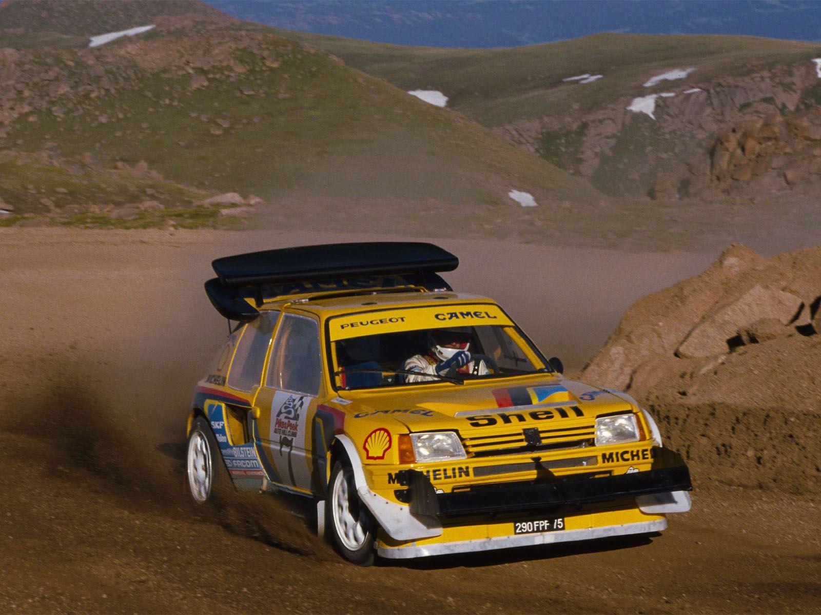 1985 Peugeot 205 Turbo 16 Rally  cars  Pinterest  Peugeot
