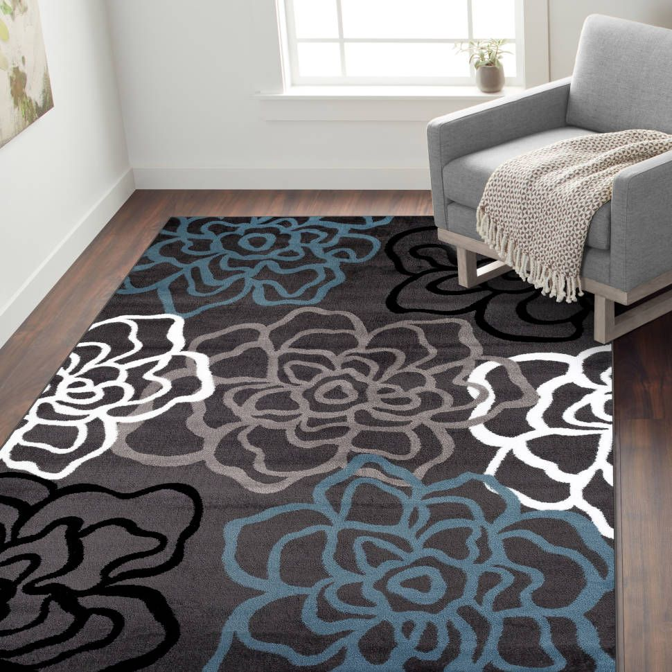 Shiflett Floral Multicolor Area Rug With Images Area Rugs