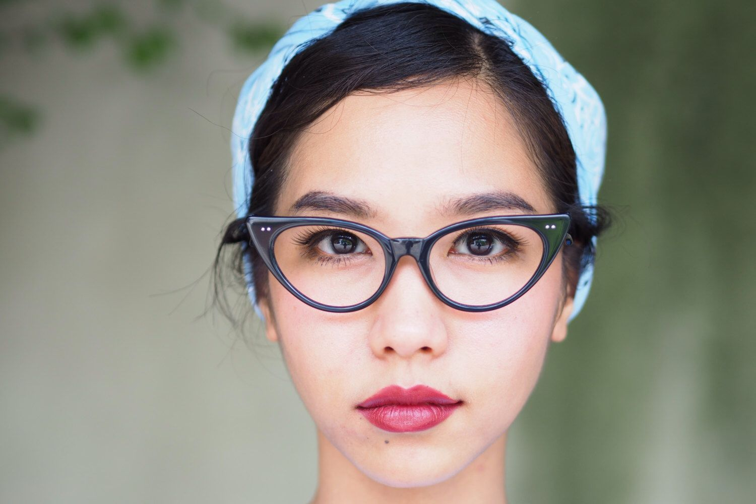A personal favorite from my Etsy shop https://www.etsy.com/listing/249595156/vintage-style-eyeglasses-cat-eye-by