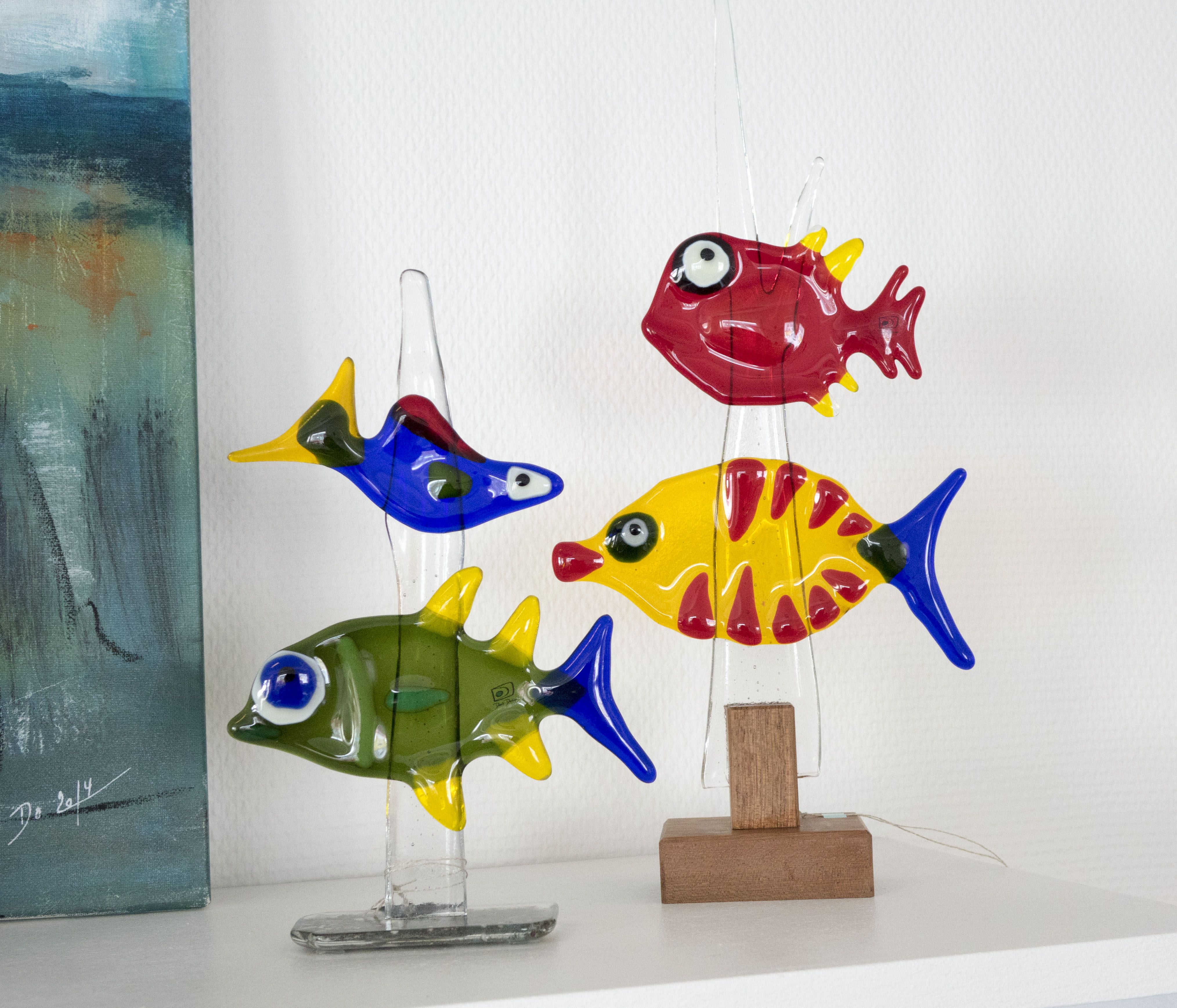 Fused glass - fishes