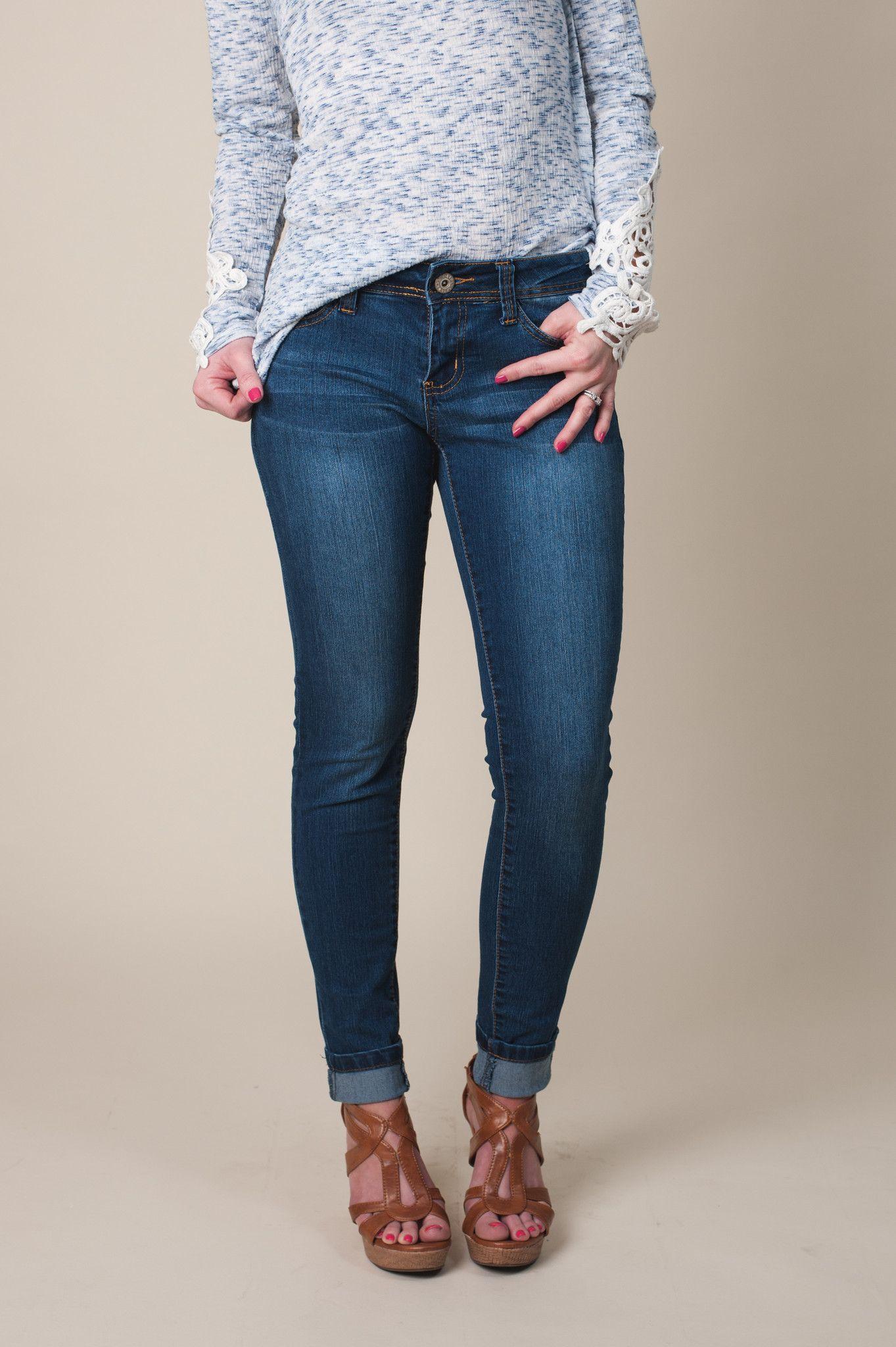 Dark Ankle Skinny Jean