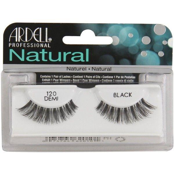 1c78b80ce59 Ardell Fashion Lashes Strip Lashes 120 Black 4 Pack) ($9.76) ❤ liked on  Polyvore featuring beauty products, makeup, eye makeup, false eyelashes,  fake ...